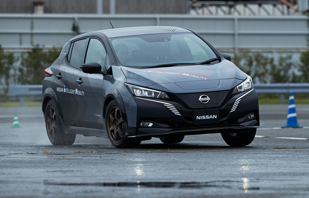 Versiunea de serie a conceptului Nissan Ariya va miza pe sistemul de propulsie e-4orce: două motoare electrice și tracțiune integrală - Poza 2