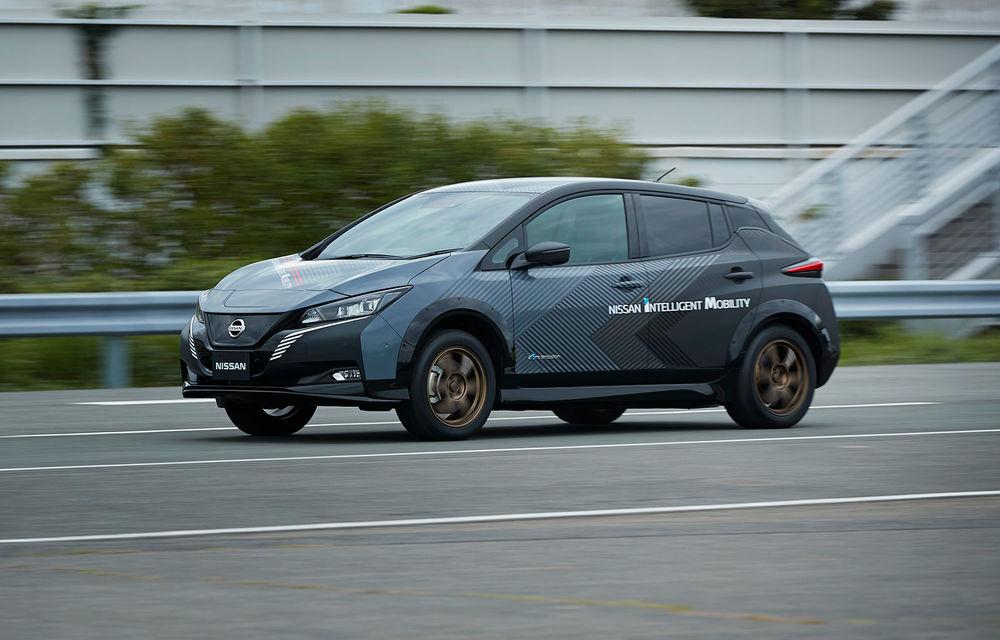Versiunea de serie a conceptului Nissan Ariya va miza pe sistemul de propulsie e-4orce: două motoare electrice și tracțiune integrală - Poza 4