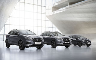 Nissan a lansat o ediție specială pentru Qashqai, X-Trail și Micra: N-Tec aduce noutăți de design și mai multă tehnologie