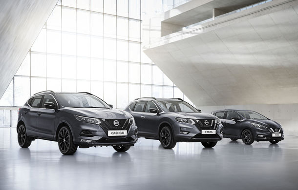 Nissan a lansat o ediție specială pentru Qashqai, X-Trail și Micra: N-Tec aduce noutăți de design și mai multă tehnologie - Poza 1