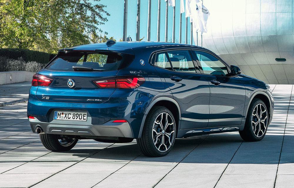 BMW introduce în gamă X2 xDrive25e: versiunea plug-in hybrid dezvoltă 220 CP și promite o autonomie electrică de până la 57 de kilometri - Poza 1