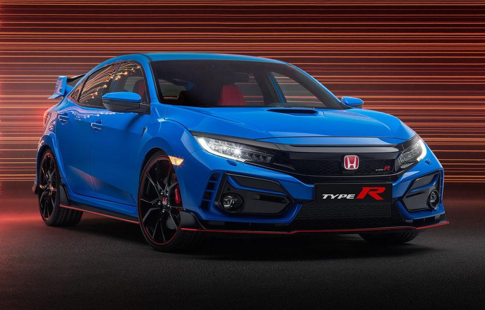 Prima imagine cu Honda Civic Type-R facelift: Hot Hatch-ul primește modificări minore de design - Poza 1