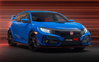 Prima imagine cu Honda Civic Type-R facelift: Hot Hatch-ul primește modificări minore de design