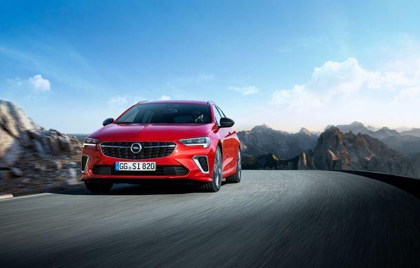 Opel Insignia facelift a fost prezentat la Bruxelles: motorizări diesel și benzină cu puteri cuprinse între 122 și 200 CP. Versiunea GSi propune 230 CP și cutie automată cu 9 trepte - Poza 4