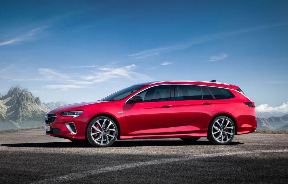 Opel Insignia facelift a fost prezentat la Bruxelles: motorizări diesel și benzină cu puteri cuprinse între 122 și 200 CP. Versiunea GSi propune 230 CP și cutie automată cu 9 trepte - Poza 6