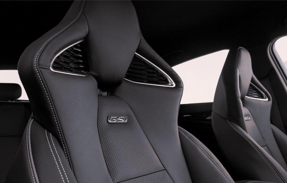 Opel Insignia facelift a fost prezentat la Bruxelles: motorizări diesel și benzină cu puteri cuprinse între 122 și 200 CP. Versiunea GSi propune 230 CP și cutie automată cu 9 trepte - Poza 16