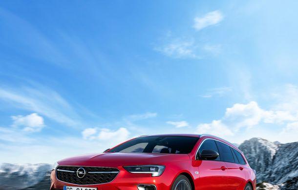 Opel Insignia facelift a fost prezentat la Bruxelles: motorizări diesel și benzină cu puteri cuprinse între 122 și 200 CP. Versiunea GSi propune 230 CP și cutie automată cu 9 trepte - Poza 5