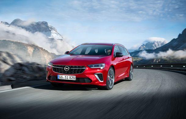 Opel Insignia facelift a fost prezentat la Bruxelles: motorizări diesel și benzină cu puteri cuprinse între 122 și 200 CP. Versiunea GSi propune 230 CP și cutie automată cu 9 trepte - Poza 3