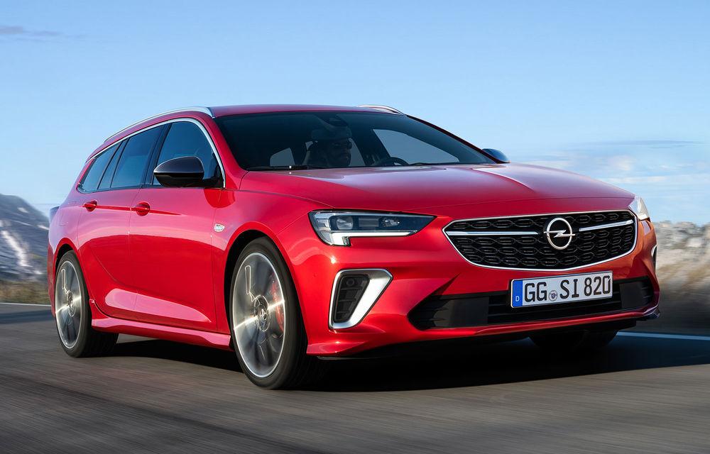 Opel Insignia facelift a fost prezentat la Bruxelles: motorizări diesel și benzină cu puteri cuprinse între 122 și 200 CP. Versiunea GSi propune 230 CP și cutie automată cu 9 trepte - Poza 1