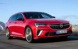 Opel Insignia facelift a fost prezentat la Bruxelles: motorizări diesel și benzină cu puteri cuprinse între 122 și 200 CP. Versiunea GSi propune 230 CP și cutie automată cu 9 trepte