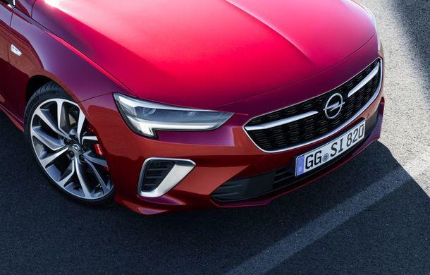 Opel Insignia facelift a fost prezentat la Bruxelles: motorizări diesel și benzină cu puteri cuprinse între 122 și 200 CP. Versiunea GSi propune 230 CP și cutie automată cu 9 trepte - Poza 9