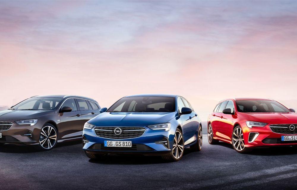 Opel Insignia facelift a fost prezentat la Bruxelles: motorizări diesel și benzină cu puteri cuprinse între 122 și 200 CP. Versiunea GSi propune 230 CP și cutie automată cu 9 trepte - Poza 2
