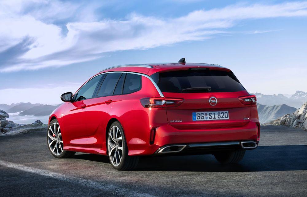 Opel Insignia facelift a fost prezentat la Bruxelles: motorizări diesel și benzină cu puteri cuprinse între 122 și 200 CP. Versiunea GSi propune 230 CP și cutie automată cu 9 trepte - Poza 7
