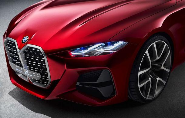 Video. Viitorul BMW Seria 4, spionat în timpul testelor: coupe-ul german va fi lansat în acest an - Poza 1