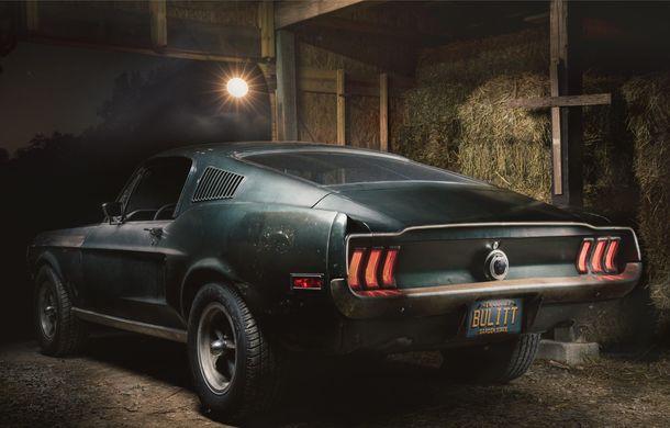 Cel mai scump Mustang din istorie este cel condus de Steve McQueen în filmul Bullitt: exemplarul a fost vândut la licitație pentru 3.7 milioane de dolari - Poza 4