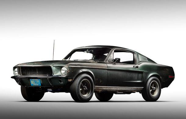 Cel mai scump Mustang din istorie este cel condus de Steve McQueen în filmul Bullitt: exemplarul a fost vândut la licitație pentru 3.7 milioane de dolari - Poza 1
