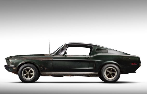 Cel mai scump Mustang din istorie este cel condus de Steve McQueen în filmul Bullitt: exemplarul a fost vândut la licitație pentru 3.7 milioane de dolari - Poza 3