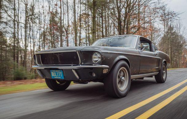 Cel mai scump Mustang din istorie este cel condus de Steve McQueen în filmul Bullitt: exemplarul a fost vândut la licitație pentru 3.7 milioane de dolari - Poza 2