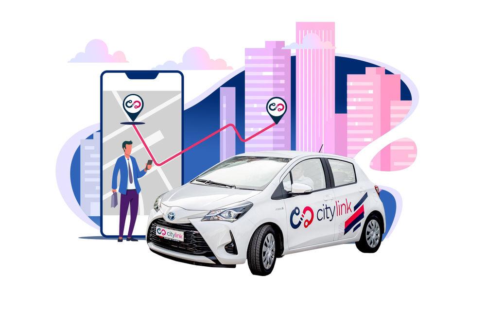 Un nou serviciu de car-sharing în București: Citylink are o flotă de 150 de unități Toyota Yaris și Corolla - Poza 1