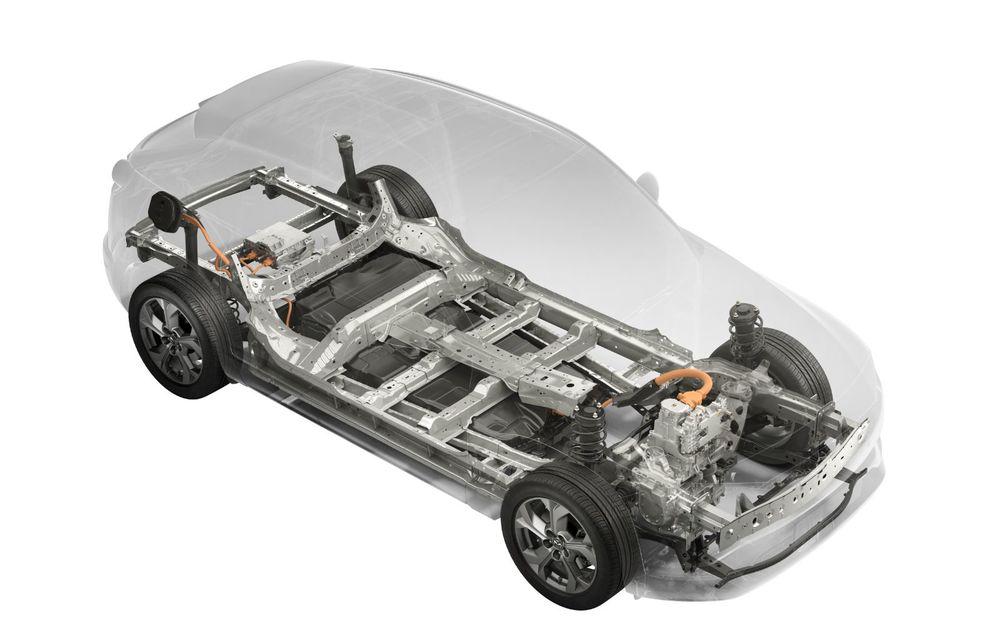 Mazda MX-30 sub lupă: am condus prototipul primului model electric Mazda - Poza 33