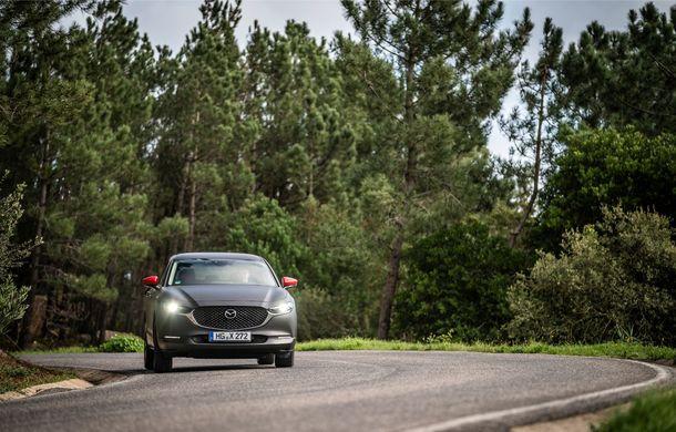 Mazda MX-30 sub lupă: am condus prototipul primului model electric Mazda - Poza 13