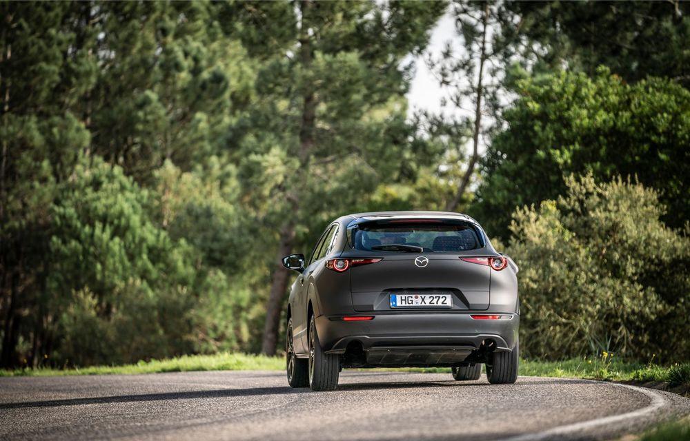 Mazda MX-30 sub lupă: am condus prototipul primului model electric Mazda - Poza 10