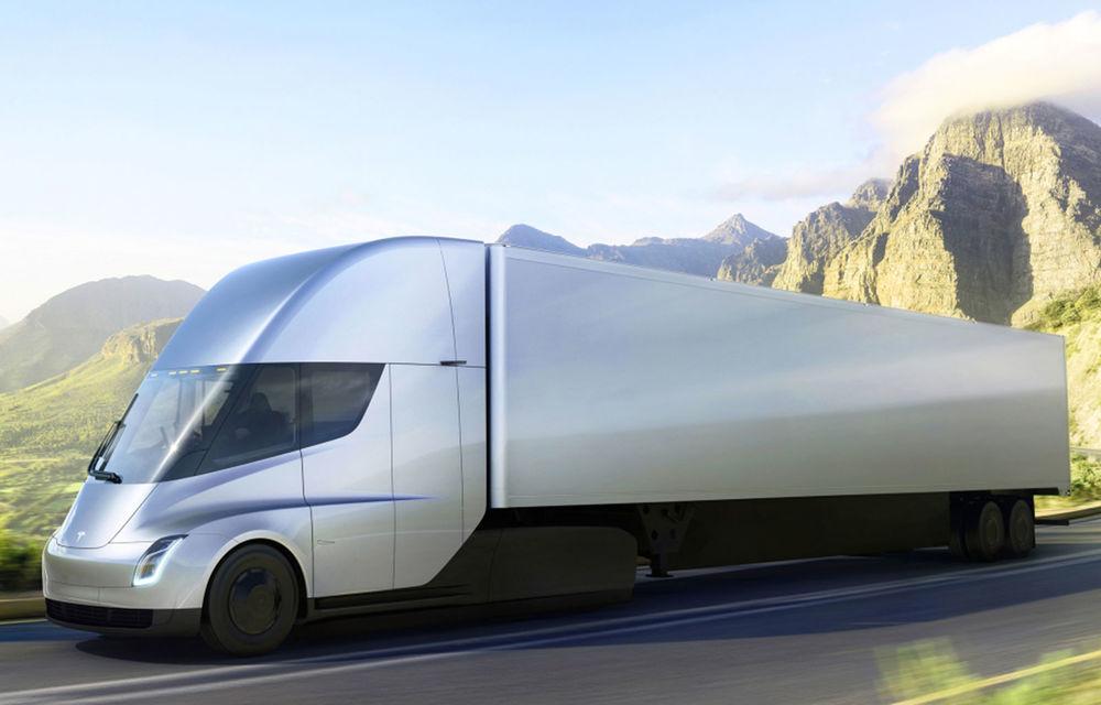 """Producția lui Tesla Semi va începe în a doua jumătate a anului: """"Capul tractor va putea aborda și drumuri sever deteriorate"""" - Poza 1"""
