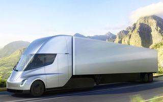 """Producția lui Tesla Semi va începe în a doua jumătate a anului: """"Capul tractor va putea aborda și drumuri sever deteriorate"""""""