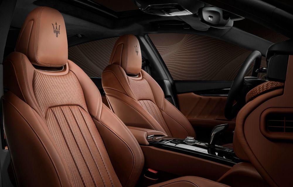 Maserati lansează ediția specială Royale pentru Quattroporte, Levante și Ghibli: producție de doar 100 de exemplare - Poza 9