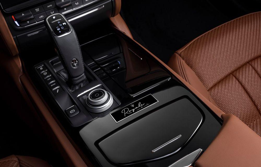 Maserati lansează ediția specială Royale pentru Quattroporte, Levante și Ghibli: producție de doar 100 de exemplare - Poza 8
