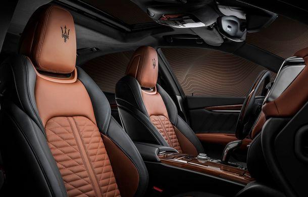 Maserati lansează ediția specială Royale pentru Quattroporte, Levante și Ghibli: producție de doar 100 de exemplare - Poza 10