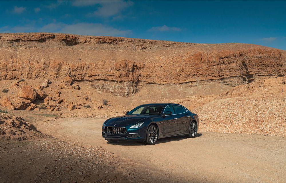 Maserati lansează ediția specială Royale pentru Quattroporte, Levante și Ghibli: producție de doar 100 de exemplare - Poza 2