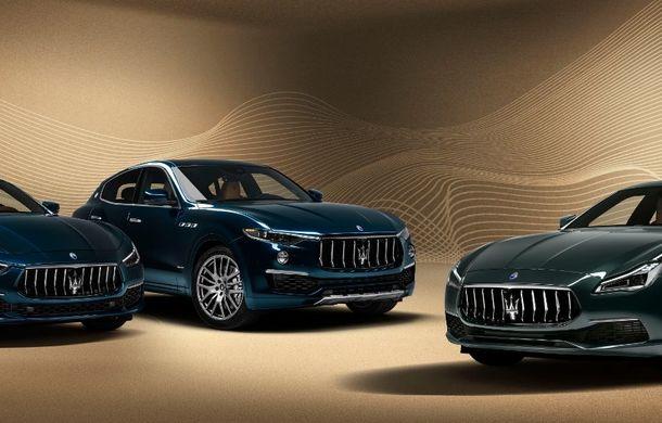 Maserati lansează ediția specială Royale pentru Quattroporte, Levante și Ghibli: producție de doar 100 de exemplare - Poza 3