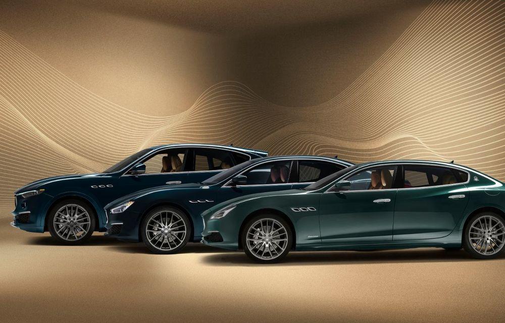 Maserati lansează ediția specială Royale pentru Quattroporte, Levante și Ghibli: producție de doar 100 de exemplare - Poza 5