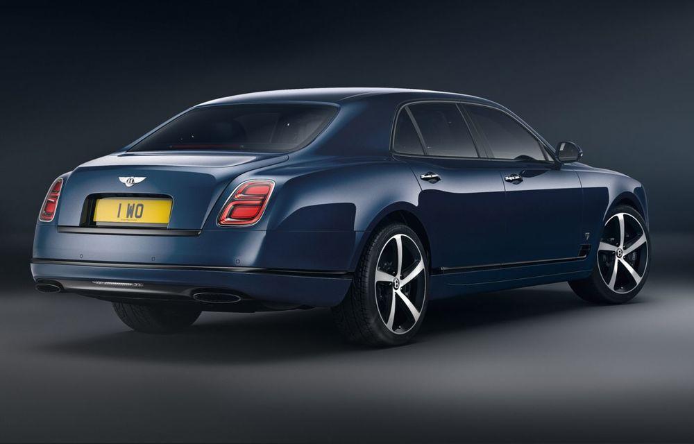 Cântec de lebădă: Bentley prezintă Mulsanne 6.75 Edition by Mulliner. Producția modelului britanic va lua sfârșit în primăvara acestui an - Poza 3
