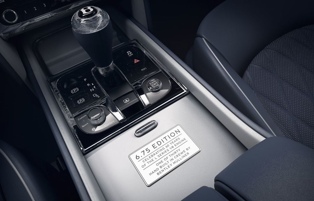 Cântec de lebădă: Bentley prezintă Mulsanne 6.75 Edition by Mulliner. Producția modelului britanic va lua sfârșit în primăvara acestui an - Poza 11