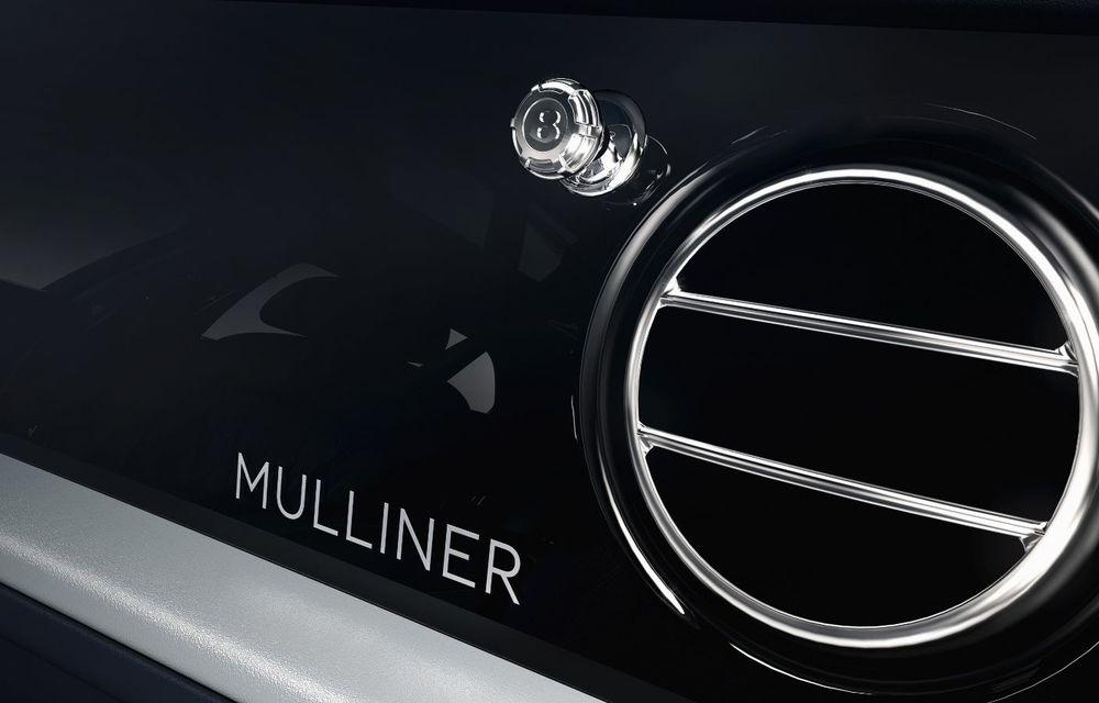 Cântec de lebădă: Bentley prezintă Mulsanne 6.75 Edition by Mulliner. Producția modelului britanic va lua sfârșit în primăvara acestui an - Poza 12