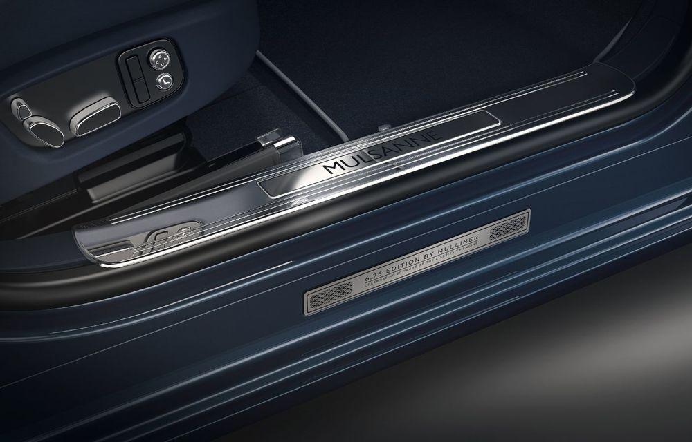 Cântec de lebădă: Bentley prezintă Mulsanne 6.75 Edition by Mulliner. Producția modelului britanic va lua sfârșit în primăvara acestui an - Poza 7