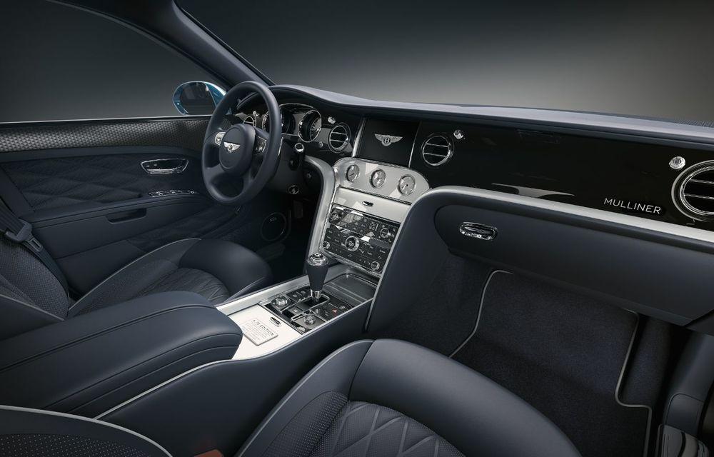 Cântec de lebădă: Bentley prezintă Mulsanne 6.75 Edition by Mulliner. Producția modelului britanic va lua sfârșit în primăvara acestui an - Poza 9