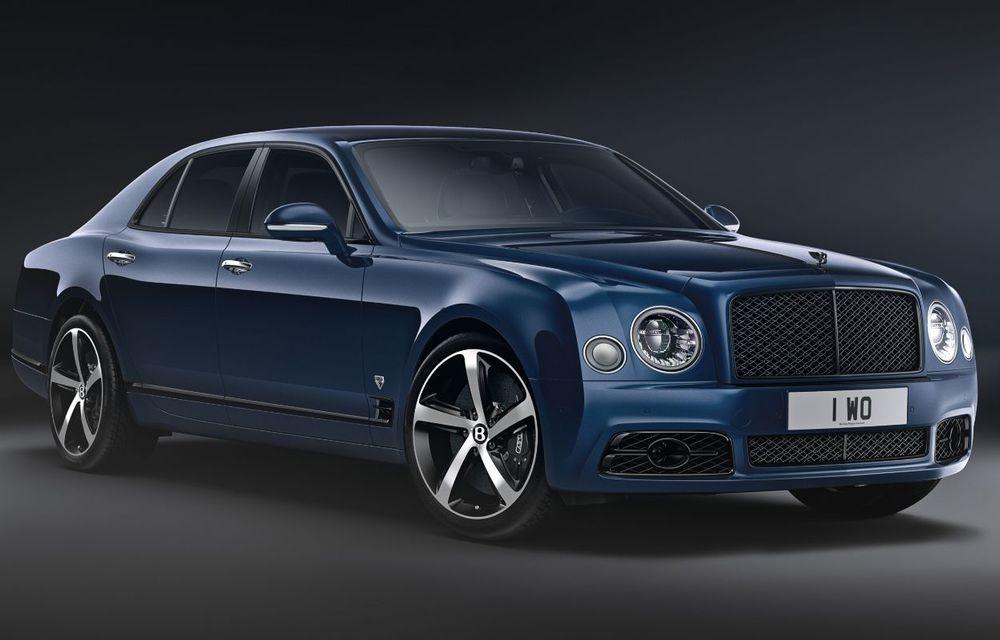 Cântec de lebădă: Bentley prezintă Mulsanne 6.75 Edition by Mulliner. Producția modelului britanic va lua sfârșit în primăvara acestui an - Poza 2