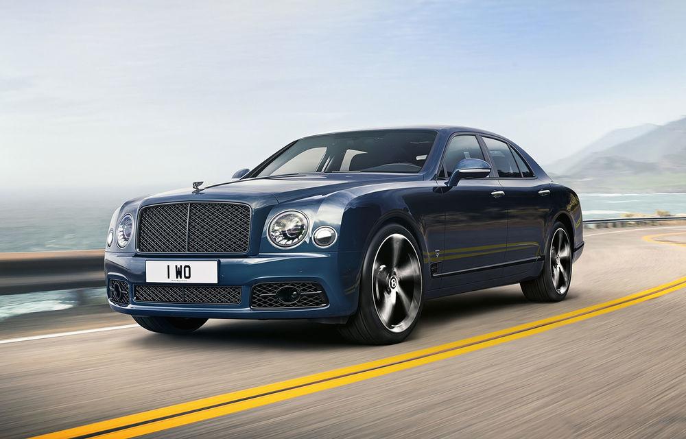 Cântec de lebădă: Bentley prezintă Mulsanne 6.75 Edition by Mulliner. Producția modelului britanic va lua sfârșit în primăvara acestui an - Poza 1