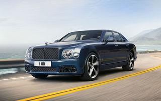 Cântec de lebădă: Bentley prezintă Mulsanne 6.75 Edition by Mulliner. Producția modelului britanic va lua sfârșit în primăvara acestui an