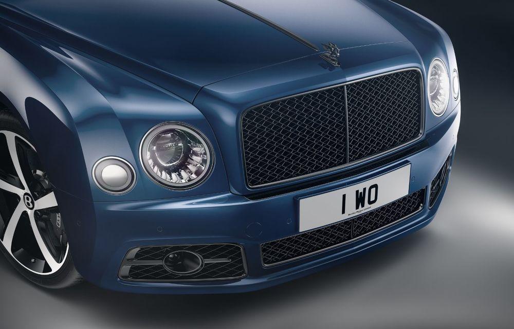 Cântec de lebădă: Bentley prezintă Mulsanne 6.75 Edition by Mulliner. Producția modelului britanic va lua sfârșit în primăvara acestui an - Poza 4