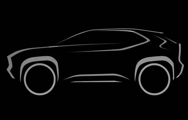 Primele schițe cu noul SUV subcompact pregătit de Toyota: lansarea va avea loc în acest an - Poza 1