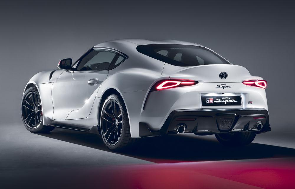 Toyota GR Supra primește un nou motor pe piața europeană: 2.0 litri și 258 de cai putere - Poza 2