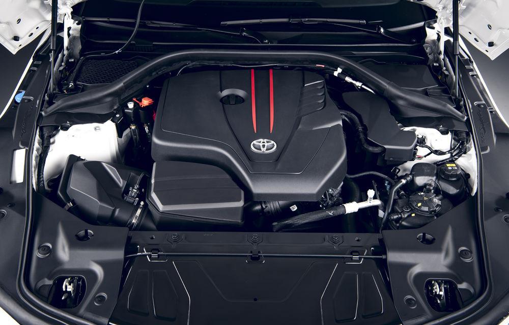 Toyota GR Supra primește un nou motor pe piața europeană: 2.0 litri și 258 de cai putere - Poza 10