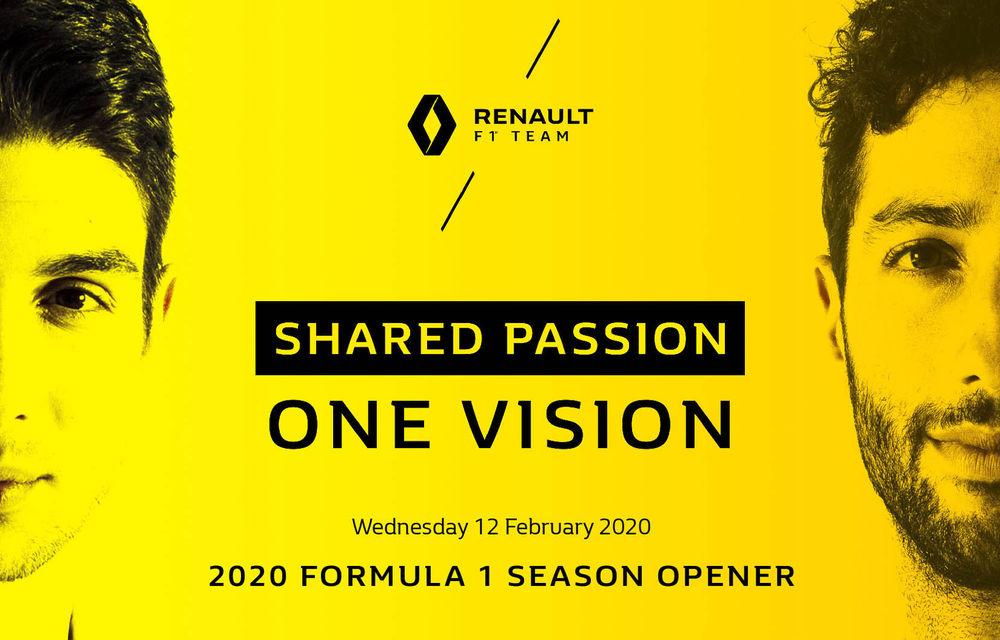Renault va lansa noul monopost pentru sezonul 2020 în 12 februarie: evenimentul va avea loc la Paris - Poza 1