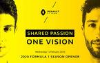 Renault va lansa noul monopost pentru sezonul 2020 în 12 februarie: evenimentul va avea loc la Paris
