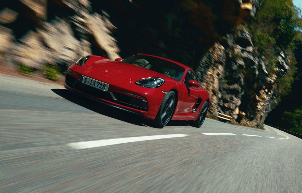 Porsche introduce noile 718 Cayman GTS 4.0 și 718 Boxster GTS 4.0: motor boxer cu șase cilindri și 400 CP - Poza 2