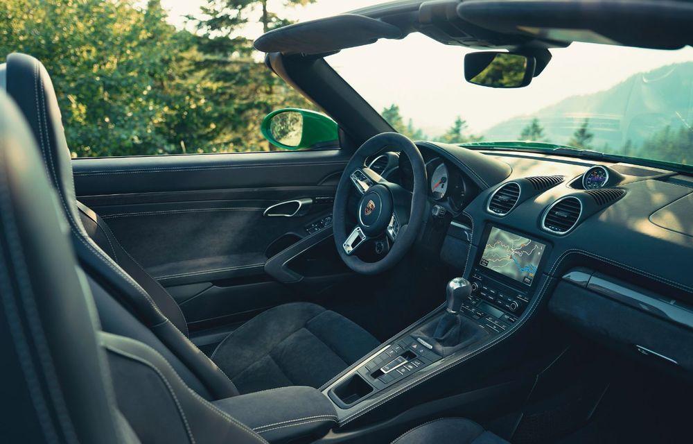 Porsche introduce noile 718 Cayman GTS 4.0 și 718 Boxster GTS 4.0: motor boxer cu șase cilindri și 400 CP - Poza 6
